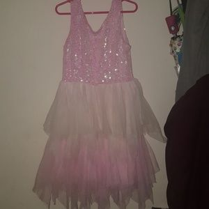 Sparkly girls dress